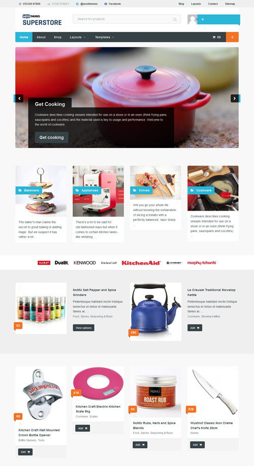 WooThemes Superstore WooCommerce