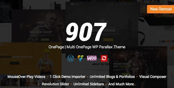 907- Multi-Purpose WordPress Theme