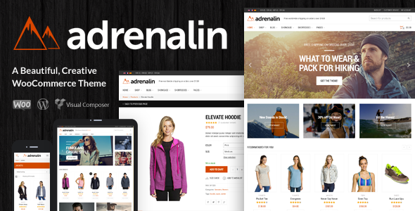 Adrenalin – Multi-Purpose WooCommerce
