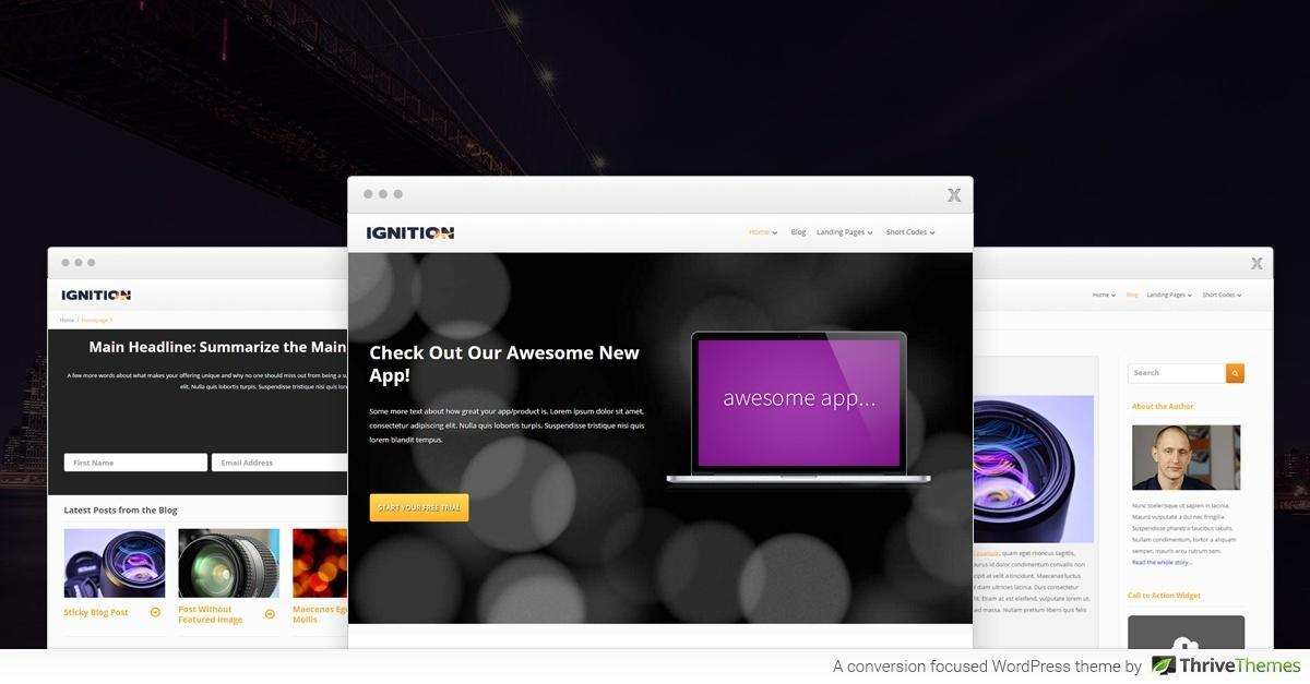 Thrive Themes Ignition WordPress