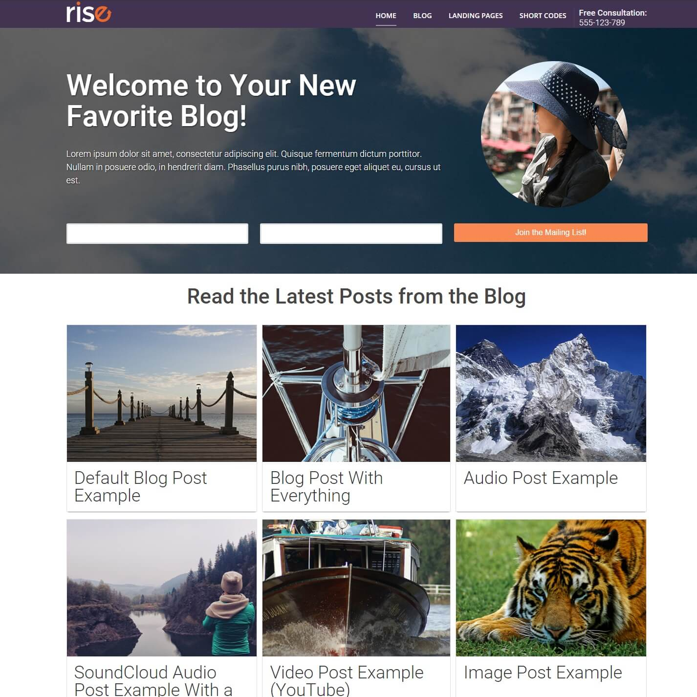 Thrive Themes Rise WordPress